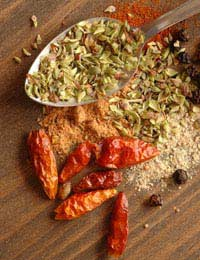 Spices Flavour Dried Spices Ground