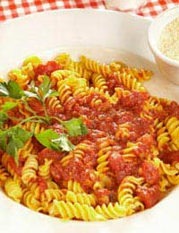 Pasta Quick Sauce Easy Cheap Tomato